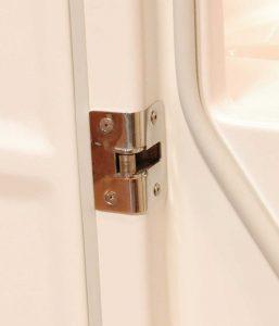 Verrou de sécurité de la baignoire à porte vallon xl