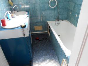 Douche senior Access avant remplacement de la baignoire Senior Bains