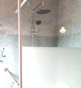 Douche cascade pare douche granite senior bains