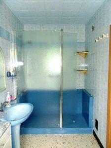 Douche sécurisée confort pack bleu