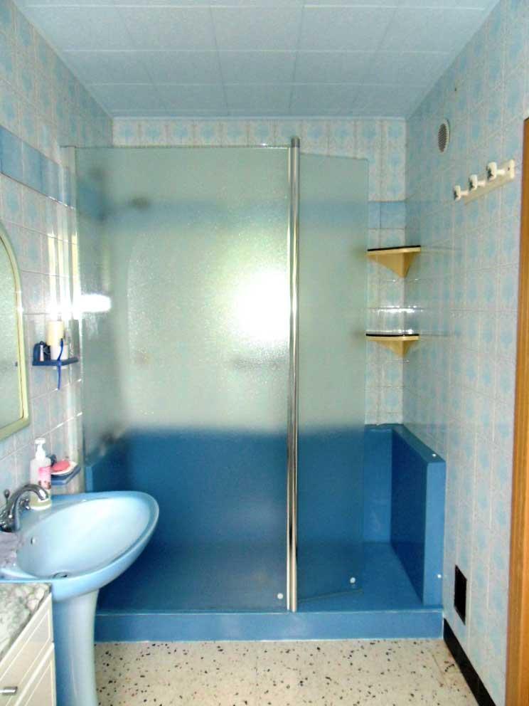 douche securisee confort pack bleue seniorbains seniorbains. Black Bedroom Furniture Sets. Home Design Ideas