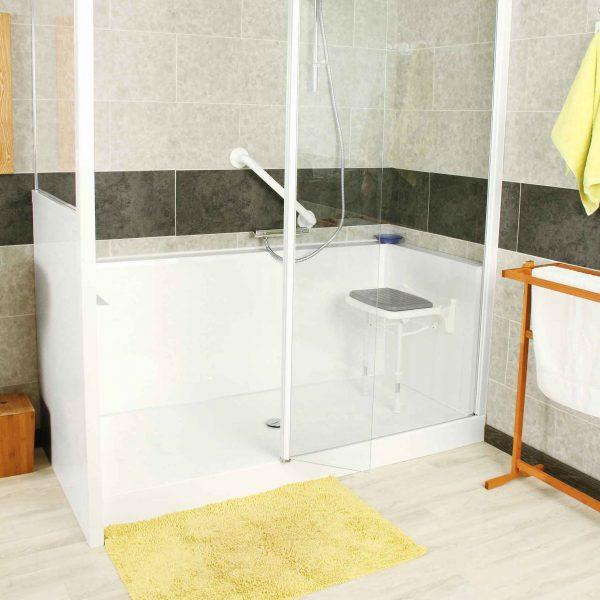 si ge de douche mural relevable ou pivotant si ge de baignoire senior bains. Black Bedroom Furniture Sets. Home Design Ideas