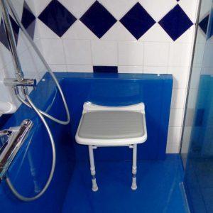 Siège de douche mural douche confort