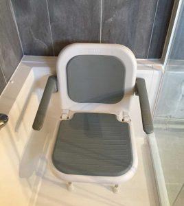 Siège de douche avec accoudoirs Senior Bains