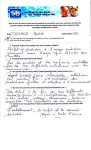 TÉMOIGNAGE de Mr DELAGE (06), le 14/03/2015