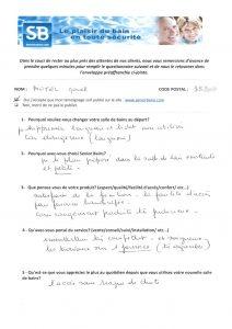 TÉMOIGNAGE de Mr MOTEL (35), le 29/08/2013