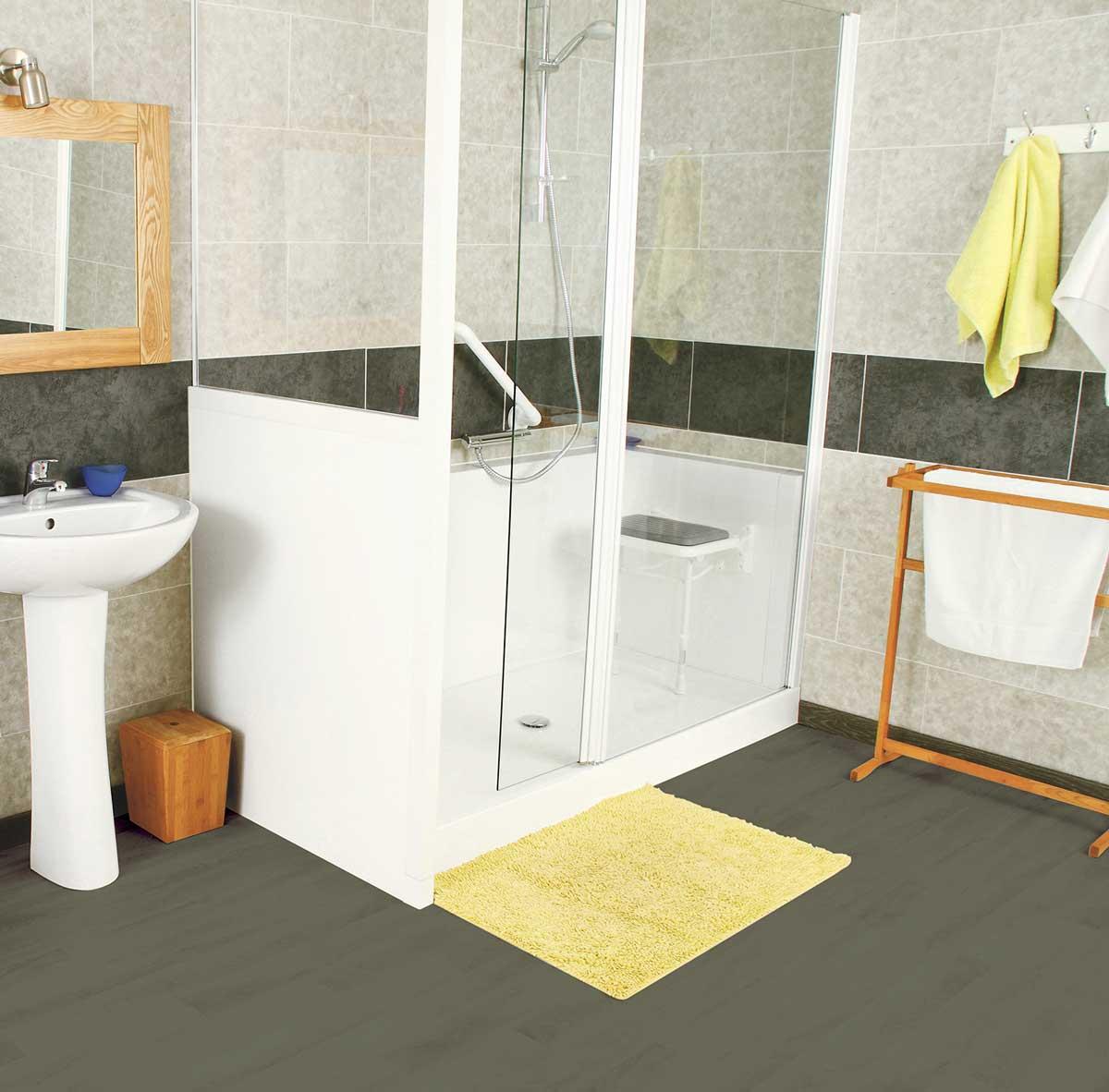 Installation De Salle De Bain Pour PMR Handicapé Personnes âgées - Salle de bain pour personne agee