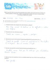 Témoignage de Mr SILVESTRE (64), le 27/12/2012