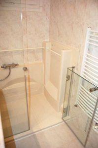Installation d'une douche Access