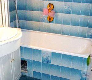 Avant l'installation d'une douche senior bains