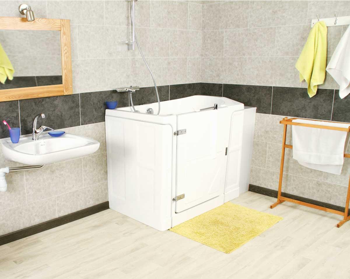 Siège pivotant de baignoire ou de douche pour handicapé : Sénior