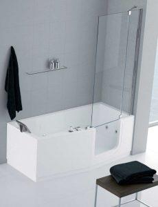 Baignoire à porte Iris Comby douche senior bains