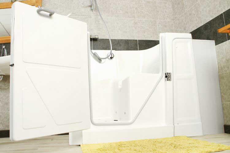Grande baignoire à porte Sénior Douche
