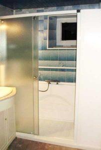 Installation d'une douche Access Senior Bains