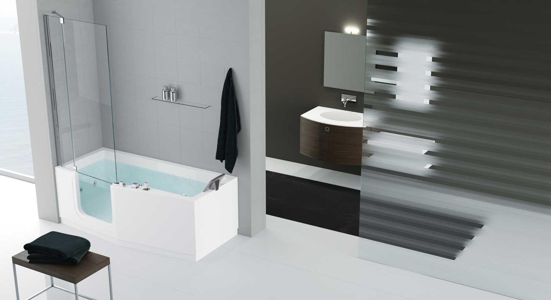 combin douche baignoire comby iris seniorbains. Black Bedroom Furniture Sets. Home Design Ideas