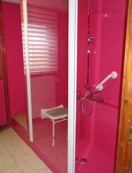 Douche senior bains couleur personnalisable