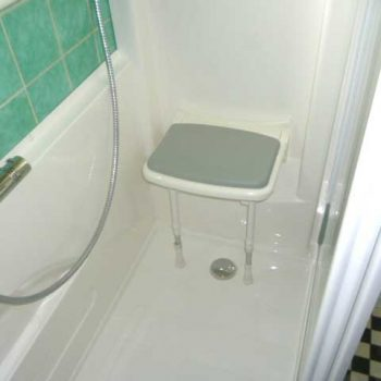 Siège de douche confort senior bains